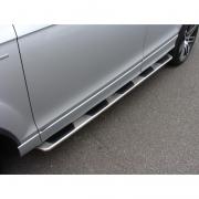 Боковые пороги (OEM) для Audi Q7 (2006 - 2015)