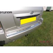 Накладка на задний бампер для Hyundai Tucson (2004 - 2014)