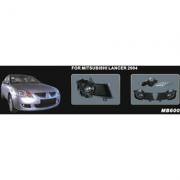 Противотуманные фары (2003 - 2005г.) для Mitsubishi Lancer IХ (2003 - 2006)