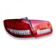 Задние фонари диодные (светлые) для Hyundai Santa Fe (2006 - 2012)
