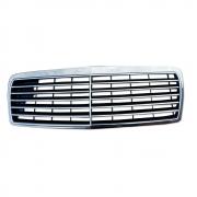 Решетка радиатора с рамкой (Elegance) для Mercedes W210 (1995 - 2002)