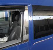 Хром на стойки дверей для Volkswagen Caddy (2004 - 2010)