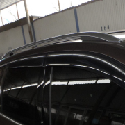 Ветровики c хромированным кантом для Volkswagen Touareg (2010 - ...)