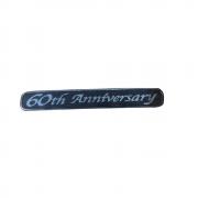 Юбилейный шильдик 60th Anniversary для Toyota Prado 150 (2018 - ... )