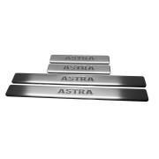 Накладки на пороги для Opel Astra H хетчбек (2004 - ...)