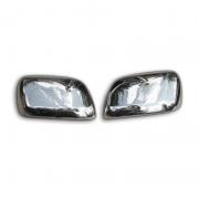 Хром накладки на зеркала для Lexus LX-570 (2008 - ...)