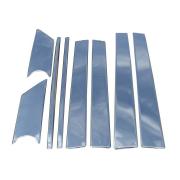 Хромированные накладки на стойки дверей для Volkswagen Touran (2003 - 2015)