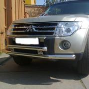 Дуга переднего бампера для Mitsubishi Pajero 4 (2007 - ...)