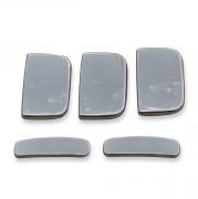 Хромированные накладки на ручки дверей для Citroen Berlingo (1996 - 2008)