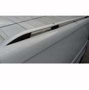 Рейлинги на крышу (серебро) для Renault Trafic (2004 - 2010)