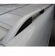 Рейлинги на крышу (серебро) для Opel Vivaro (2004 - 2010)