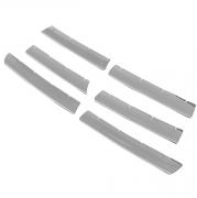 Накладки на решетку радиатора для Volkswagen Touran (2003 - 2015)