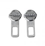 Защелки ремней безопасности для Nissan X-Trail (2007 - 2014)