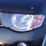 Защита фар для Mitsubishi L200 (2006 - 2015)