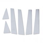 Молдинг дверных стоек для Audi Q5 (2009 - ...)