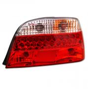 Фонари задние (диодные, светлые) для BMW 7-серия E38 (94 - 2001)