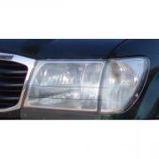 Защита фар для Toyota Land Cruiser 100 (98 - 2006)