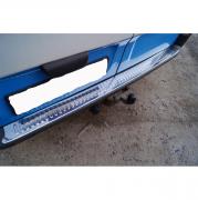 Накладка на задний бампер для Renault Trafic (2004 - 2010)