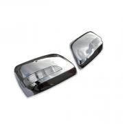 Хром на зеркала с повторителями поворотов для Lexus LX-570 (2008 - ...)
