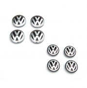 Заглушки в диски для Volkswagen Passat B7 (2010 - 2015)