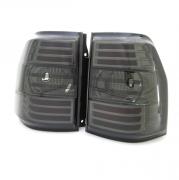 Задние фонари диодные (тонированные) для Mitsubishi Pajero 4 (2007 - ...)