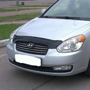 Дефлектор капота для Hyundai Accent (2006 - 2010)