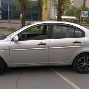 Ветровики для Hyundai Accent (2006 - 2010)