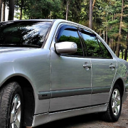Ветровики для Mercedes W210 (1995 - 2002)