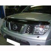 Мухобойка (дефлектор капота) для Nissan Navara (2005 - 2014)