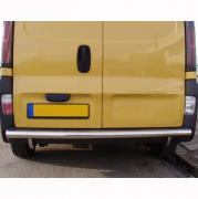 Дуга заднего бампера прямая для Opel Vivaro (2004 - 2010)