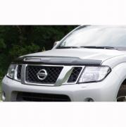 Дефлектор капота (2010...) для Nissan Navara (2005 - 2014)