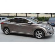 Хром молдинги дверей для Hyundai Elantra (2011 - 2014)
