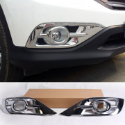 Хром на передние противотуманки для Honda CR-V (2012 - ...)