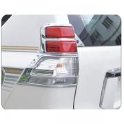 Хром накладки на задние стопы для Toyota Prado 150 (2009 - ...)