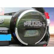 Наклейка на чехол запасного колеса для Toyota Prado 150 (2009 - ...)