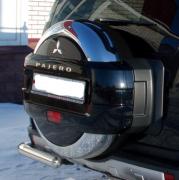 Чехол запасного колеса для Mitsubishi Pajero 4 (2007 - ...)