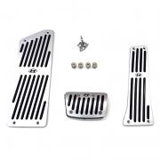 Накладки на педали (АКПП) для Hyundai Sonata LF (2015 - ...)
