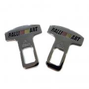 Защелки ремней безопасности RALLI ART для Mitsubishi Outlander XL (2007 - ...)