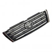 Решетка радиатора черная с хромом (2013+) для Toyota Prado 150 (2009 - ...)