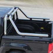 Дуга в багажник (76 мм, хром) для Volkswagen Amarok (2010 - ...)