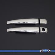 Хром на ручки (2 шт.) для Citroen C4 (2005 - 2010)