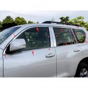 Хром пакет на окна для Toyota Prado 150 (2018 - ... )