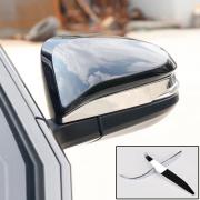 Хром окантовки зеркал для Toyota Highlander (2014 - ...)