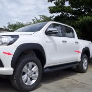 Расширители колесных арок для Toyota Hilux (2015 - ...)