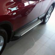 Пороги боковые для Nissan Qashqai (2007 - 2014)