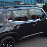 Окантовка стекол для Jeep Renegade (2014 - ...)