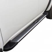 Боковые пороги для Mitsubishi L200 (2006 - 2015)