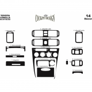 Декор в салон для Toyota Corolla (1997 - 2002)