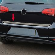 Молдинг на край крышки багажника для Volkswagen Golf 7 (2013 - ...)