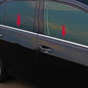 Нижние молдинги стекол для Volkswagen Golf 7 (2013 - ...)